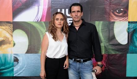 Viviana Navarro y Javier Fernández.