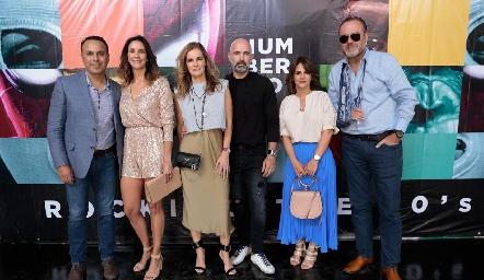Jaime Delsol, Gabriela Estrada, Lorena Quiroz, Leopoldo de la Garza, Verónica y Gunnar Mebius.