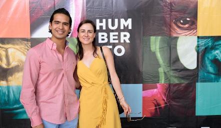 Héctor Hernández y Susana Schekaiban.
