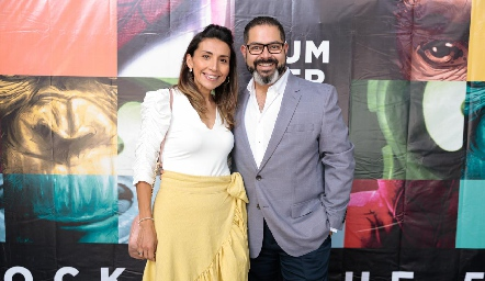 Karla Palacios y Armando Morquecho.