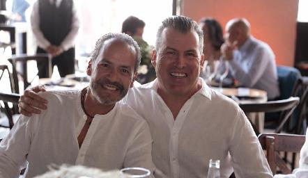 Ernesto Goepfert y Alfonso Anaya.