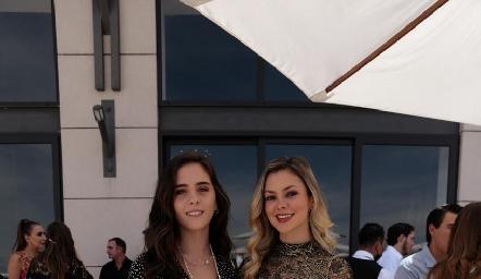 Federica Meade y Renata Acevedo.