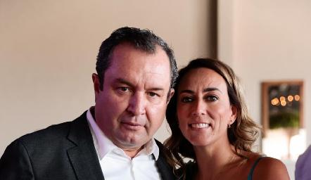 Humberto Abaroa y Sandra Salgado.