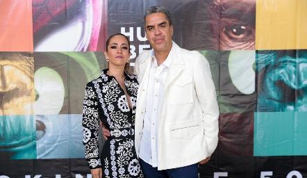Olivia Flores y Gabriel Ortiz.