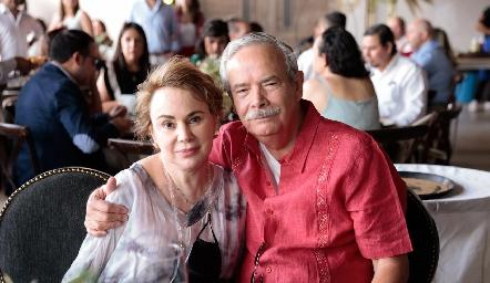 Lourdes López y Juan José Toranzo.