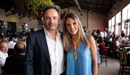 Eduardo Ramos y Priscila González.