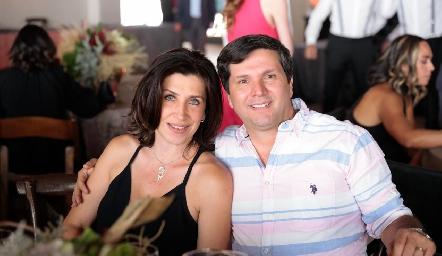 Bety y Rodrigo.