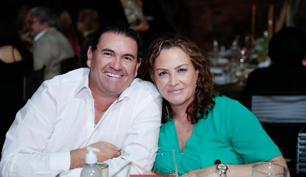 Guillermo Cueto y  Gabriela Herrera.