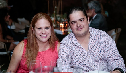 Elisa Vilet y Eduardo Gouyonnet.