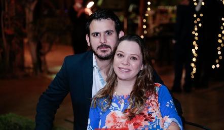 Mauricio Valdés y Marcela O´Farrill.