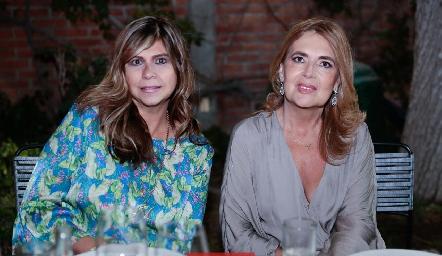 Maye Mercado y Mónica Córdova.