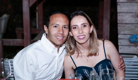 Diego Díaz de Sandi y Olga Espinosa.