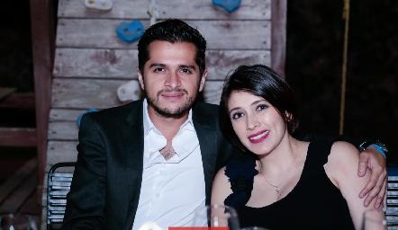 Emilio y Karime Chalita.