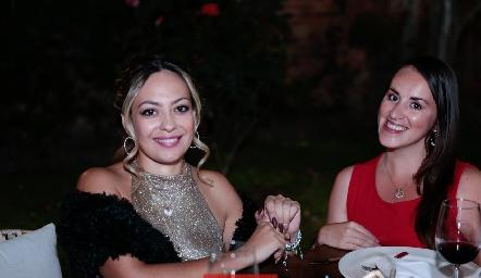 Maria Fernanda Domínguez y Ángela Cortés.