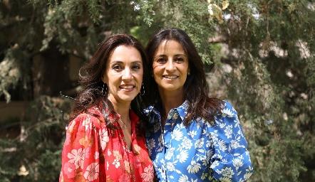 Mónica y Vanesa Galarza.