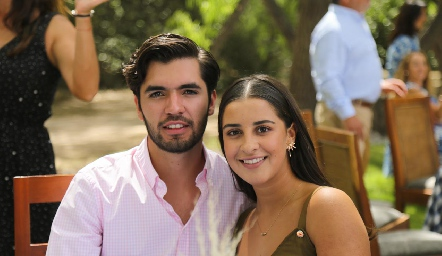 Juan Pablo Quintero y Lorea Gómez.