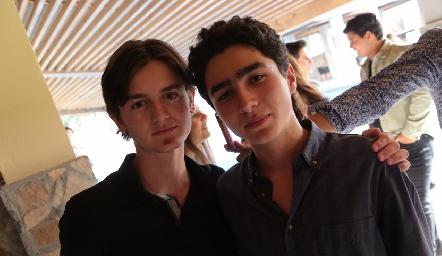 Pato Sarquis y Pablo Córdova.