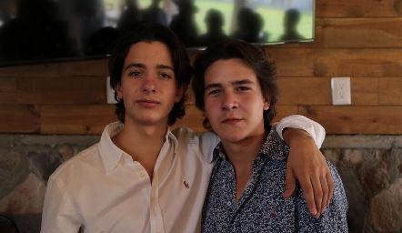 Diego Castro y Mauricio Buendia.