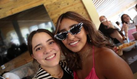 Carlota y Camila.