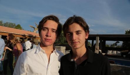 Jacobo Payan y Pato Sarquis.