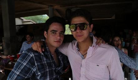 Manolo Martins y Patricio Ojeda.