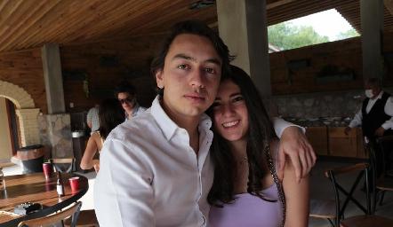 Rodrigo Padilla y Regina Armendáriz.