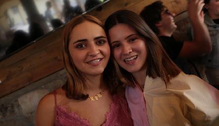 Isabela Navarro y Lorenza Hinojosa.