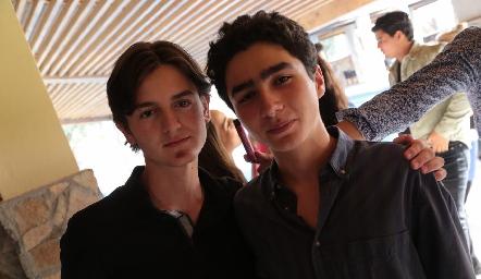 Pablo Córdova y Pato Sarquis.