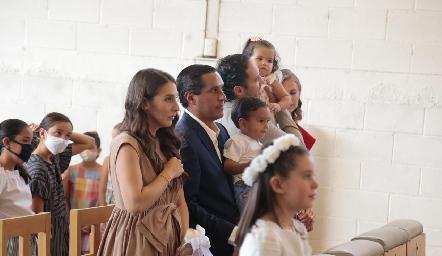Primera Comunión de Fer Chávez Ramírez.