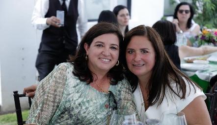 Ale Saiz y Sara Gutiérrez.