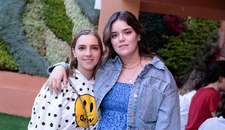 Fran Hinojosa y Carlota de la Garza.