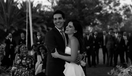 Mauricio y Adriana.