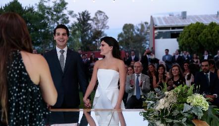 Boda de Mauricio Tobías y Adriana Olmos.