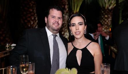 Santiago Meade y Mariana Tobías.