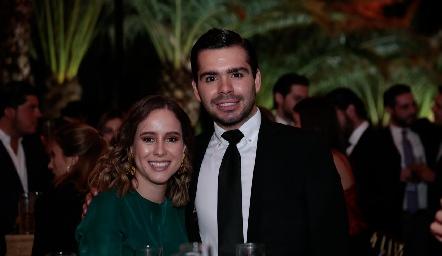 Ana Lu Esparza y Rodrigo Pérez.