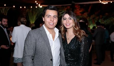 Lisandro Bravo y Sofía Muñiz.