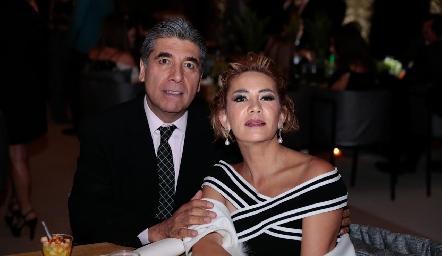 Rafael Tobías e Isabel Carrillo.