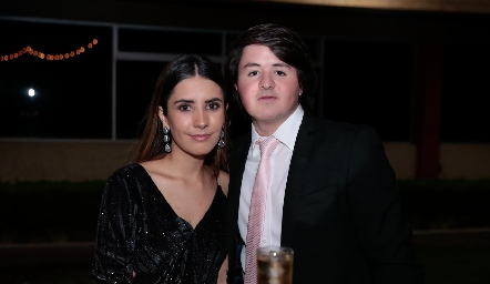 Lourdes Lafuente y Jorge Aldrett.