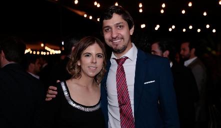 Marissa Tobías y Guillermo Alonso.