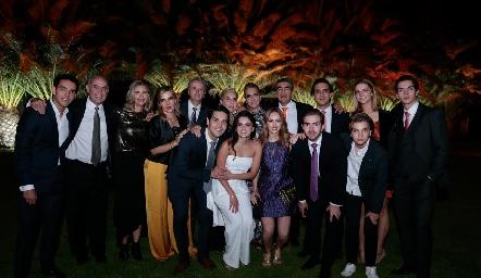 Familia Hinojosa de la Fuente.