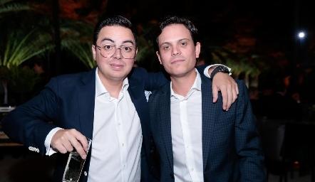 Toño Guzmán y Jorge Naya.