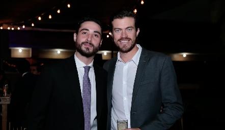 Roberto Zollino y Roberto Lozano.