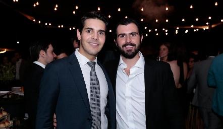 Mauricio Tobías y José Luis Hernández.