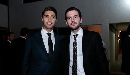 Andrés Tobías y Eduardo Gómez.