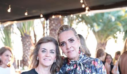 Adriana Carrera y Mimí Hinojosa.