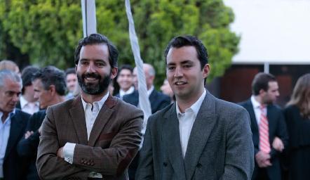 Joaquín y José Julián Olmos.