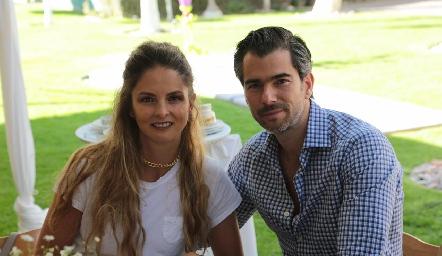 María José López y Eduardo Vigil.