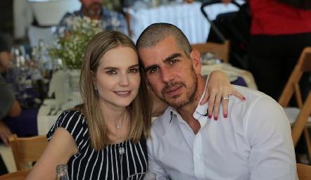 Miriam Huber y Alejandro Valladares.