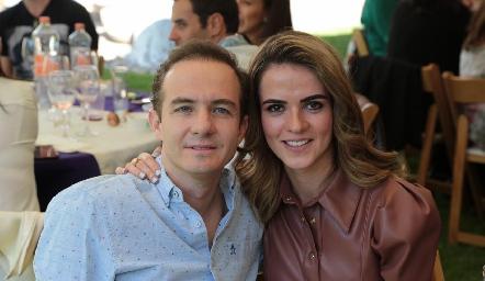 Carlos Velázquez y Anna Lorca.