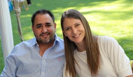 Manolo Lorca y Montse Lafuente.